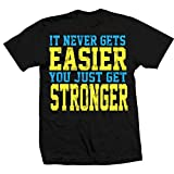 TapouT Never Gets Easier T-shirt