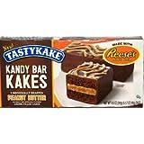 Tastykake Cream Filled Kandy Bar Kakes with Reese's Peanut Butter - 5 CT