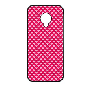 Vibhar printed case back cover for Xiaomi Redmi 1s PinkRedHeart