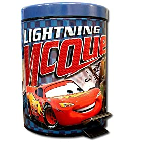 Cars Lightning McQueen & Mater Garbage Can