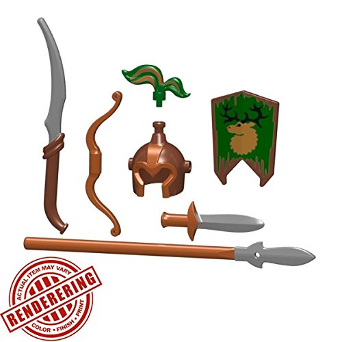 Brickforge-Elven-Sentinel-Dark-Forest-Fantasy-Minifigure-Pack-Minifig-Not-Included