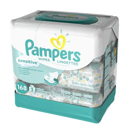 Pampers Diapers And Wipes