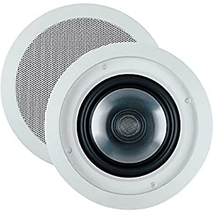 "JBL SP6CII 2-way, Round 6.5"" In-Ceiling Speaker with Swivel Mount Tweeter (Pair)"