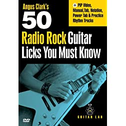 50 Radio Rock Licks You Must Know