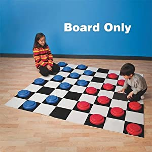 Jumbo Checker Board from S&S
