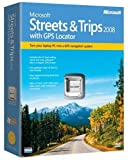 Microsoft Streets and Trips 2008 with GPS [OLD VERSION]
