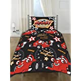 Roary I'M Winner Junior Cot Bed Rotary Duvet Cover Set 120*150Cmby Matching Bedroom Sets Ltd