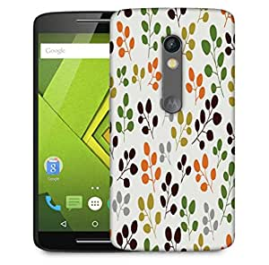 Snoogg Variety Of Leaves Designer Protective Phone Back Case Cover For Motorola Moto X Play