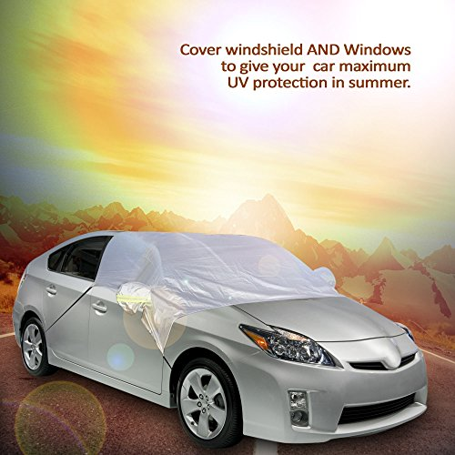 Windshield cover for car Protection from SUN and snow Top quality material for automobile exterior Keep CAR COOL for kids pets family COVERS WINDSHIELD WINDOWS and mirrors for any vehicle (Pontiac G6 Washer Nozzle compare prices)