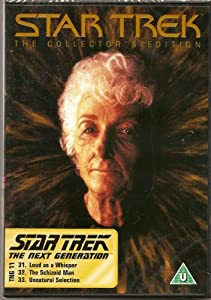 STAR TREK - THE COLLECTOR'S EDITION - TNG 11 - LOUD AS A WHISPER, THE SCHIZIOD MAN, UNNATURAL SELECTION - NEW & FACTORY SEALED - VERY HARD TO COME BY SEALED - RARE