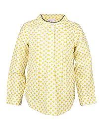 My Lil' Berry Girls' Shirt (LBT02_White_1-2 Years)