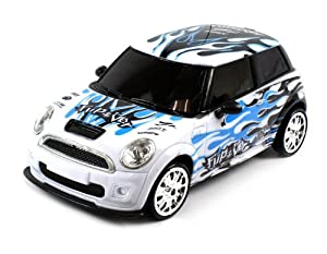 Velocity Toys Mini Cooper Graffiti Electric RC Drift Car 1:18 4WD RTR (Colors May Vary) Perform Various Drifts at Sears.com