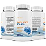 Neuro Fuel – Ginkgo Biloba St. Johns Wort & Bacopin – Focus, Concentrate, Reduce Stress, and MUCH MORE – Fuel Your Brain with the Right Choice