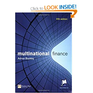 Multinational Finance Adrian Buckley