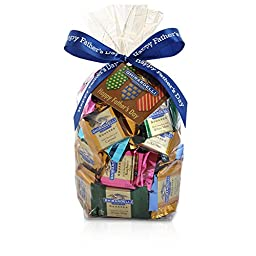 Happy Father\'s Day SQUARES Gift Bag - 80 Count