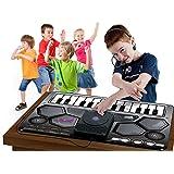 Ginzick Kids Music Dj Style Playmat with Microphone