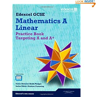 GCSE Mathematics Edexcel 2010: Spec A Practice Book Targeting A and A* (GCSE Maths Edexcel 2010) (Paperback)