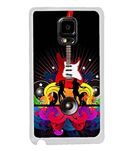 Music and Guitar 2D Hard Polycarbonate Designer Back Case Cover for Samsung Galaxy Note Edge :: Samsung Galaxy Note Edge N915FY N915A N915T N915K/N915L/N915S N915G N915D