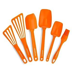 烹饪女王瑞秋 Rachael Ray 橘色六件套厨具