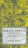 Image of Horace Odes II: Vatis Amici: Horace Bk.2