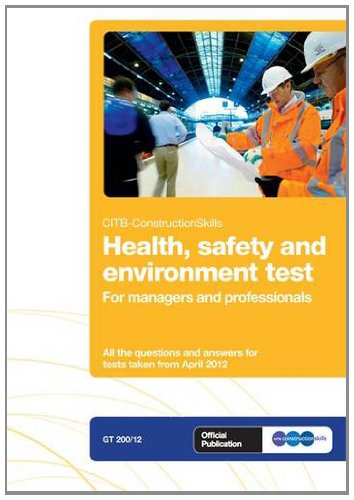 CSCS Test Revision Book for managers