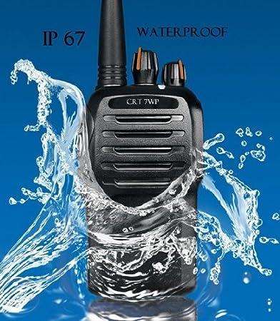 PAIRE EMETTEUR RECEPTEUR TALKIE WALKIE UHF VOX CRT 7WP