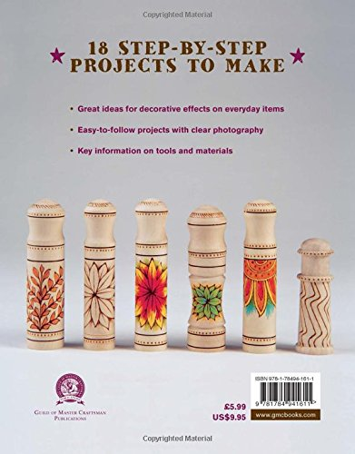 Pyrography 18 Step by Step Projects to Make