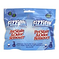 Fizzion 2 Tablet Refill Pouch Pet Stain and Odor Removal for Carpets Rugs and Upholstery ( Makes 2-23oz Bottles)