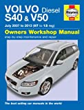 Haynes Garage Quality Car Repair Manual for Volvo S40 & V50 Diesel (July 07 - 13) 07 to 13 including an AA Microfibre Mitt