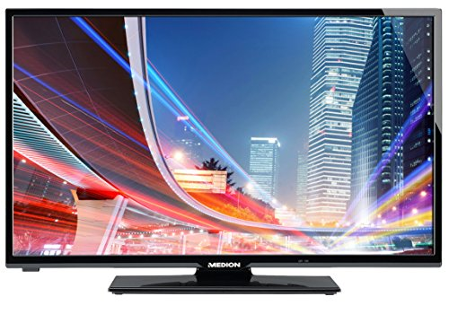 "MEDION LIFE P18039 (MD 30843) 125,7 cm (50"" Zoll) Smart-TV (Full HD 1080p, HD-Triple-Tuner DVB-T DVB-C DVB-S2, 100 Hz Real Motion Rate, WLAN, Medienportal, Mediathek, DLNA, HbbTV, Mediaplayer, USB, CI+, EEK A++) schwarz"