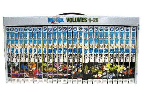 dragon ball z box set vols 126 volumes 1 26