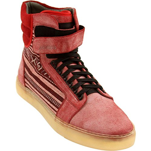 Android Homme Men's Propulsion High 1.5 (red)-9.0
