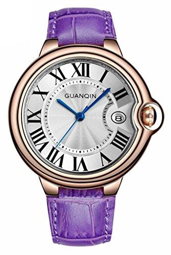 tcella-women-business-casual-purple-leather-strap-calendar-quartz-waterproof-watch-rose-gold