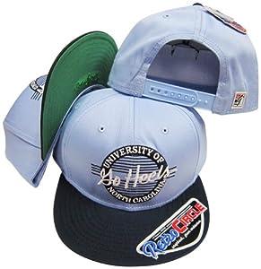 North Carolina Tar Heels Go Heels Circle Snapback Adjustable Snap Back Hat Cap by The Game