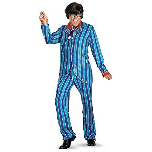 GSG Austin Powers Carnaby Suit Adult 60s Halloween Costume Std/Plus Sizes (Austin Powers Ladies)