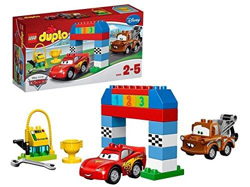 LEGO® DUPLO® Carstm - 10600 - Jeu De Construction - La Course Classique Disney Pixar Cars™