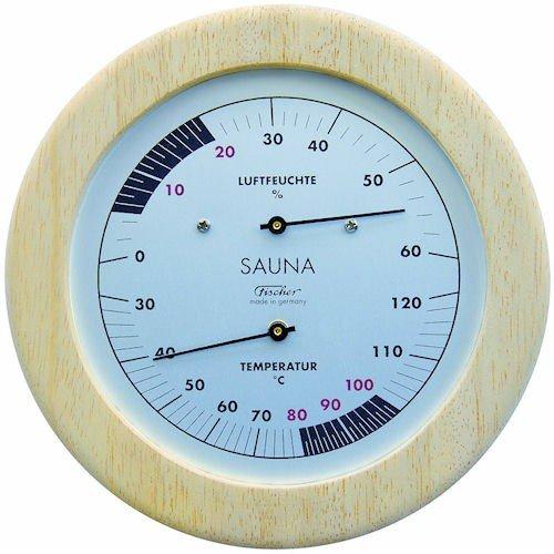 Fischer Sauna Thermometer und Hygrometer