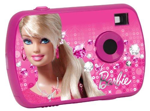 Lexibook LE-DJ017BB Fotocamera Digitale per Bambine, Barbie, Rosa