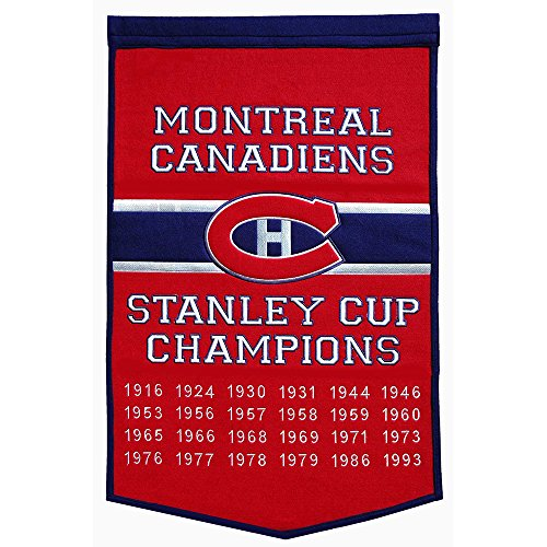 """Montreal Canadiens NHL Dynasty"""" Banner (24""""x36"""")"""""""
