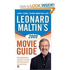 Leonard Maltin's 2009 Movie Guide (Leonard Maltin's Movie Guide (Signet))