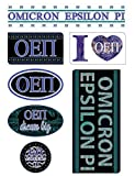 Omicron Epsilon Pi Sheet -Bohemian Theme. 8.5