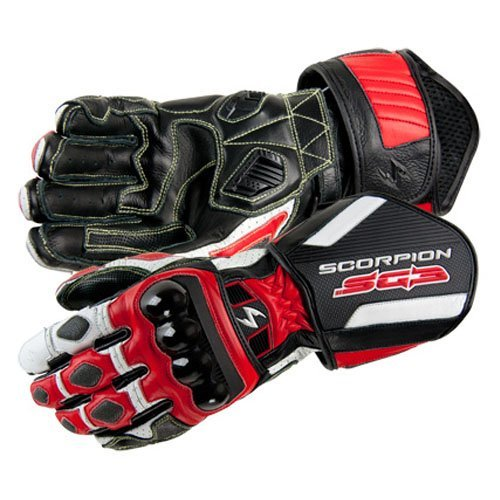 Scorpion SG3 Motorcycle Gloves Red Size XX-Large