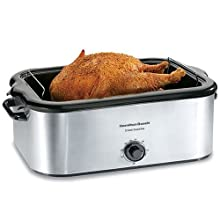Hamilton Beach 32229 22-Quart Roaster Oven, Stainless Steel