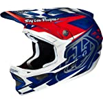 Troy Lee Designs Team D3 Composite Street BMX Helmet - Metal Flake Blue / Medium