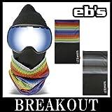 eb's / エビス 2 WAY TUBE フェイスマスク ネックウォーマー スノーボード RAINBOW
