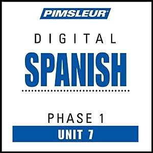 Spanish Phase 1, Unit 07 Audiobook