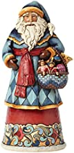 Jim Shore for Enesco Heartwood Creek Santa with Toy Basket Figurine 975-Inch