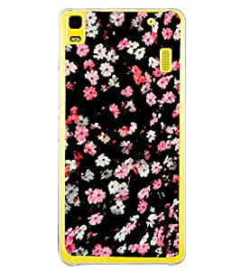 Flowers Pattern 2D Hard Polycarbonate Designer Back Case Cover for Lenovo A7000 :: Lenovo A7000 Plus :: Lenovo K3 Note