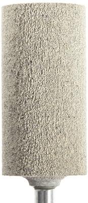 "CoreTemp 97900 Type W222 A80F Cotton Fiber Abrasive Mounted Point, Latex Bond, 20000 RPM, 1"" Diameter x 2"" Length (Pack of 1)"