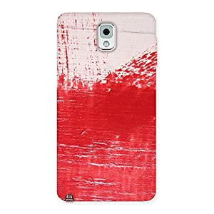 Ajay Enterprise Elant Red Fresh Texture Back Case Cover for Galaxy Note 3